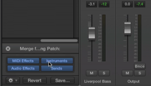 Logic Pro X Patch Merging