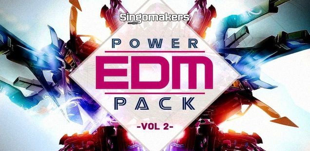 EDM Power Pack Vol. 2 Sample Library - Free Samples