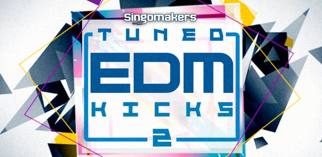 100 EDM Tuned Kicks Vol 2 Sample Library