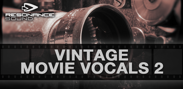 Vintage Movie Vocals 2 Sample Library