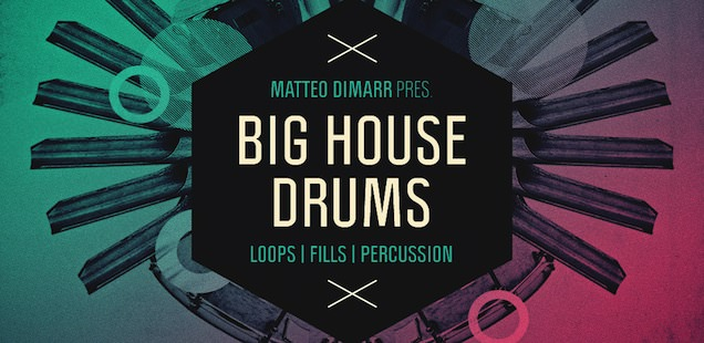 Matteo DiMarr – Big House Drums Sample Library – Free Samples