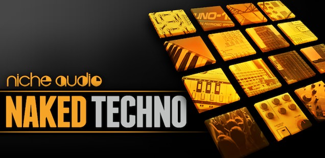 Naked Techno Sample Library – Free Samples – EXS24 Maschine, Live, & More