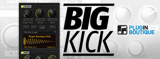 Plugin Boutique Big Kick – Kick Drum Design Plugin Mac PC