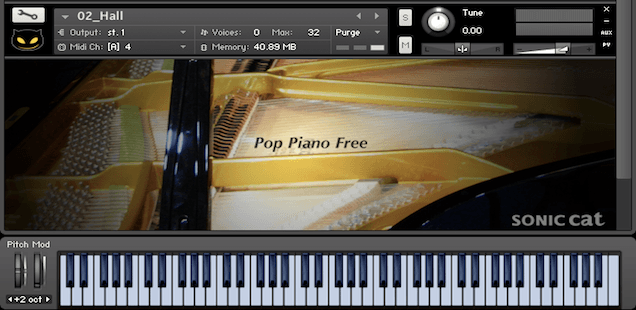 Pop Piano Free Sample Library For Kontakt