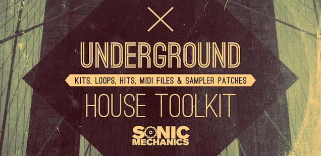 Underground House Toolkit Sample Library Free Samples