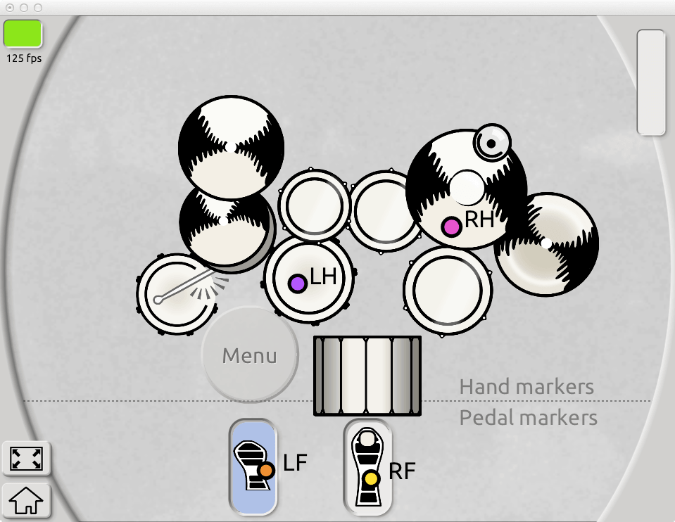 Air-Drum into a DAW or Sampler MAC PC