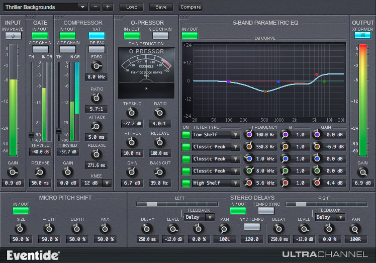 Free Eventide Ultra Channel Strip Plugin  – $249 Value