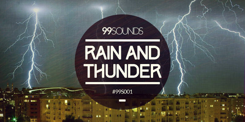 Free Rain & Thunder Sound Library | Apple Loops for Logic Pro