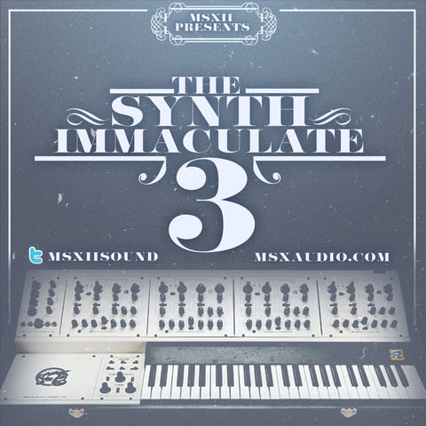 MSXII Sound Design Release Synth Immaculate 3 Limited Edition