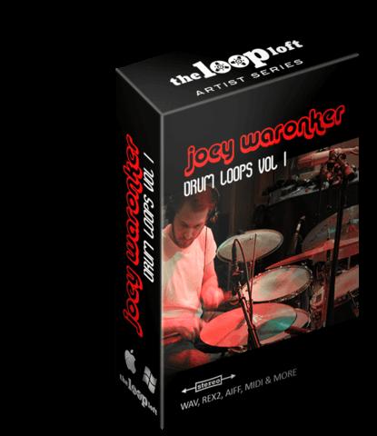 Joey Waronker Drum Loops ( Beck, REM, Atoms for Peace ) REX2, AIFF, WAV, Stylus RMX MIDI