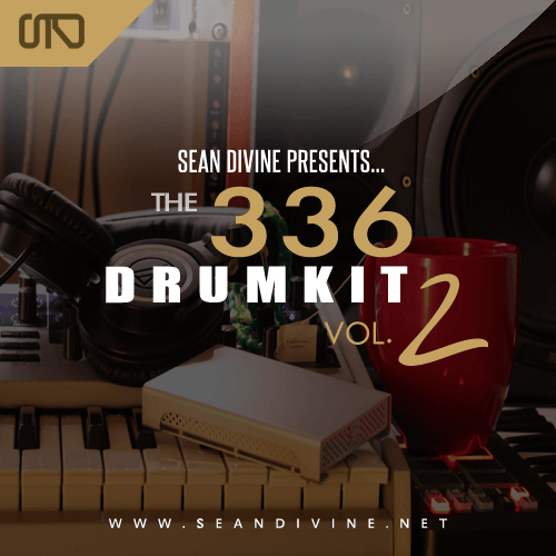 36 Kicks 36 Snares 36 Loops & More 336 Drum Kit Volume 2 by Sean Divine