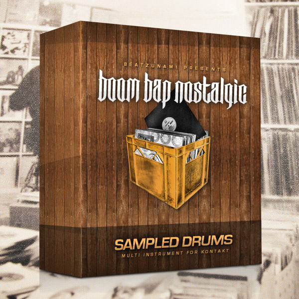 Gritty, Punchy & Raw Drum Kits Boom Bap Nostalgic For Native Instruments Kontakt