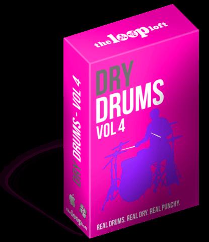 204 Live Acoustic Dry Drum Loops