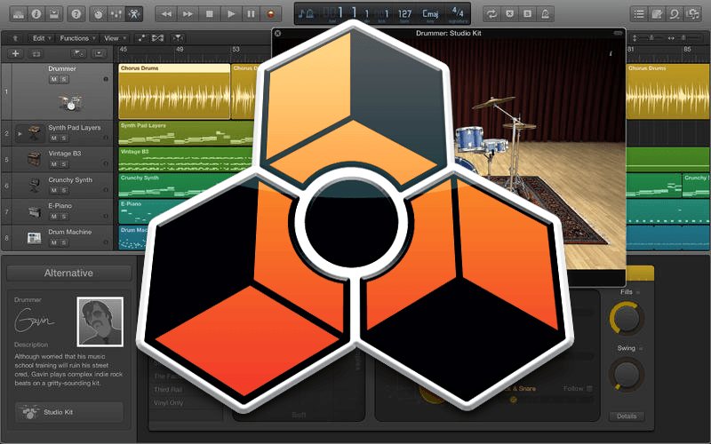How To Rewire Reason To Logic Pro X Tutorial