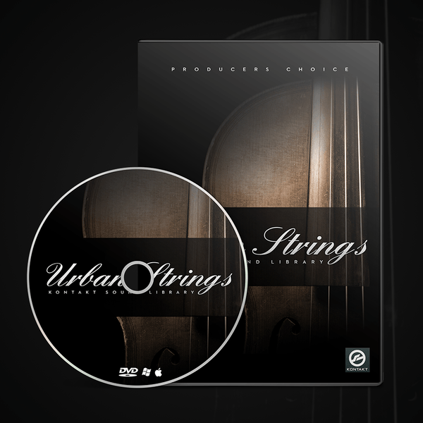 Urban Strings Sample Library Kontakt 1.35GB of Instruments & Instrument Stacks