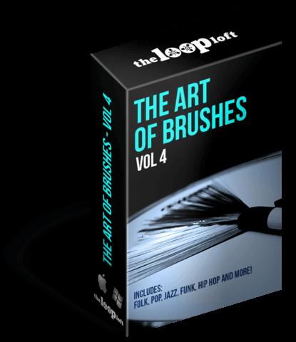 211 Acoustic Brush Drum Loop