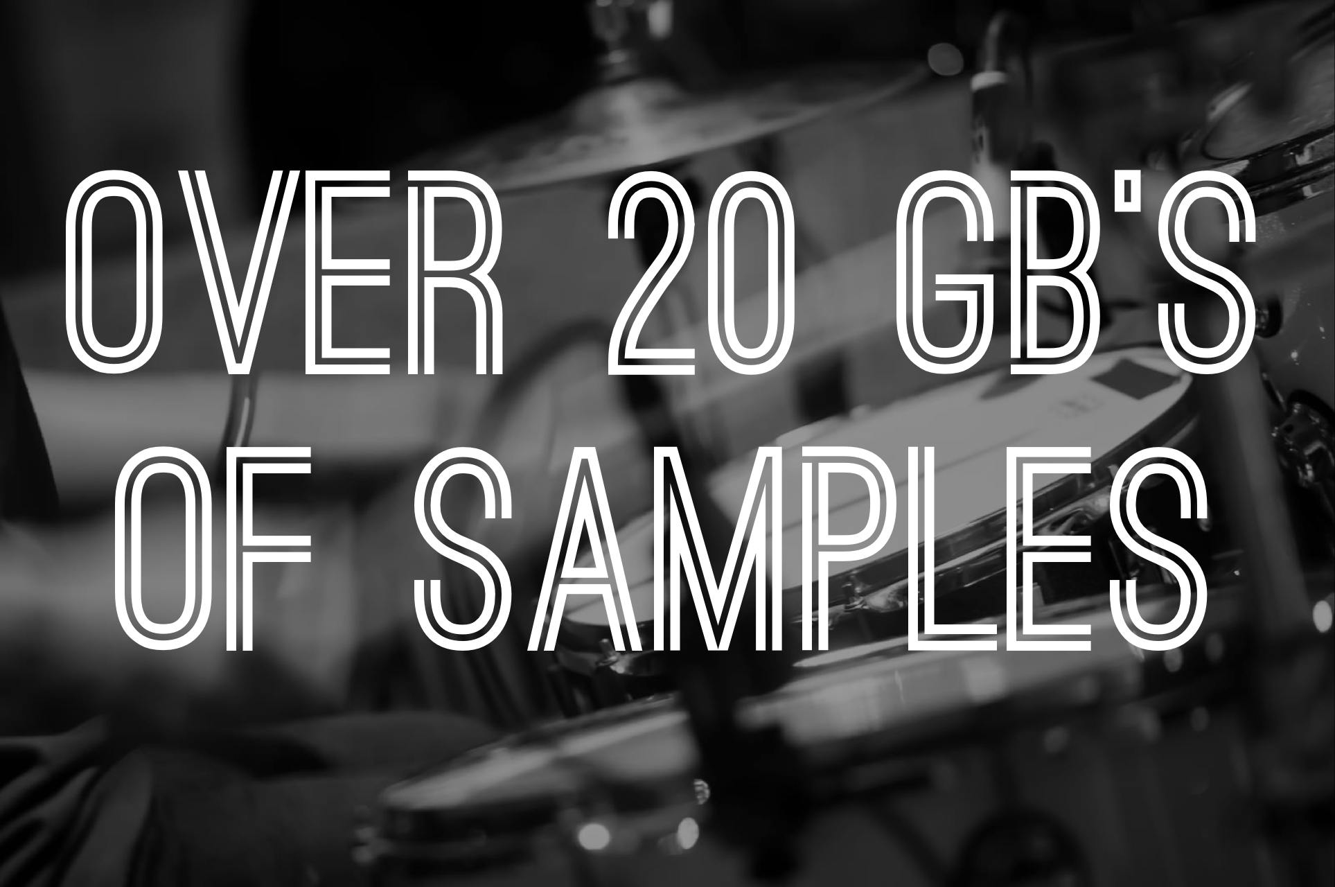 Over 20 GB's of Samples, Loops, Sounds, Vocals, Drums & More