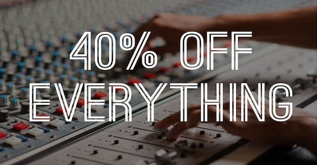 40% Off All Sample Libraries From The Producers Choice