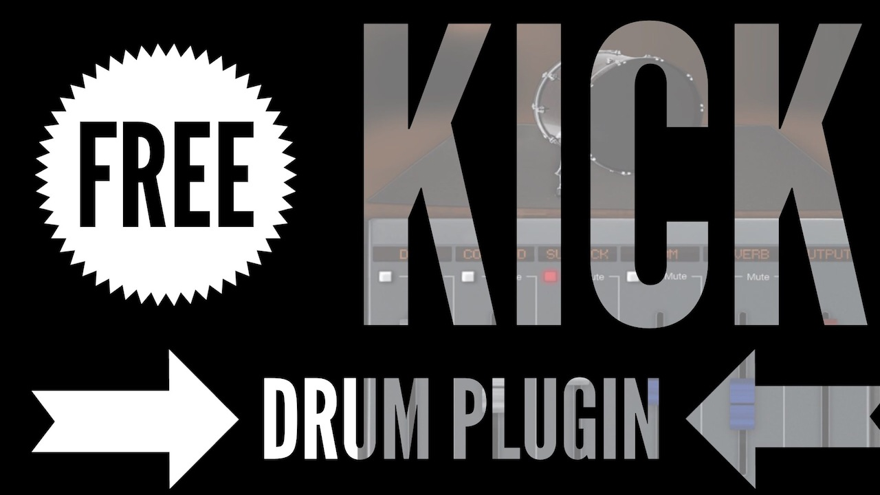 Dark VX Kick: Free Sampled Kick Drum Plugin Instrument
