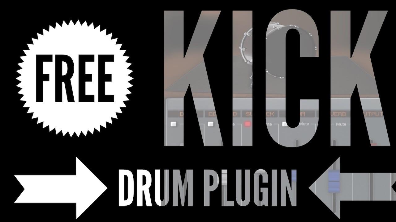 Dark VX Kick: Free Sampled Kick Drum Plugin Instrument