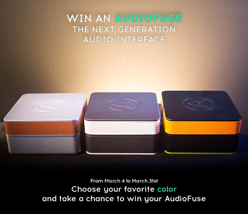 Win an Arturia AudioFuse Audio Interface