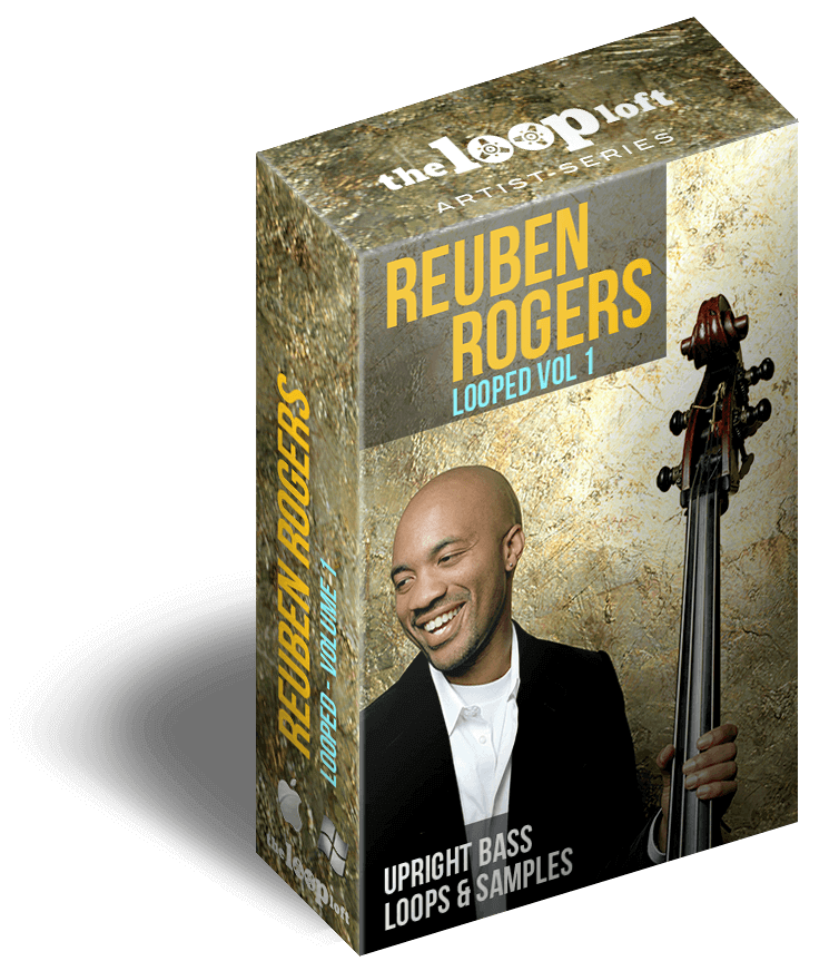 Reuben Rogers Upright Bass Sample Library Loops & Mutli