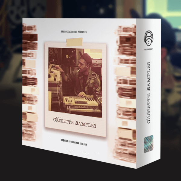 350+ Custom One Shot Samples & Loops – Cassette Samples by Turkman Souljah