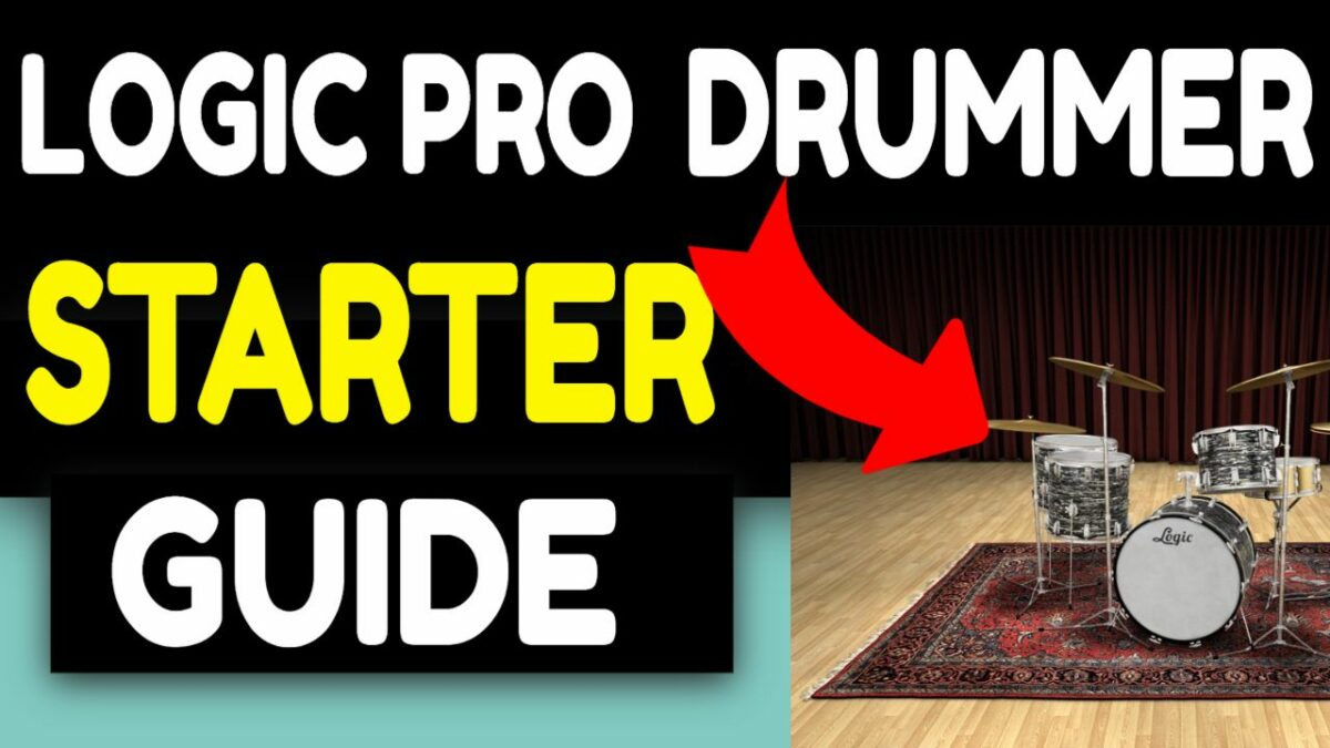 LOGIC PRO X DRUMMERS BEGINNERS GUIDE MASTER CLASS (2021) Overview Tips & Tricks GarageBand