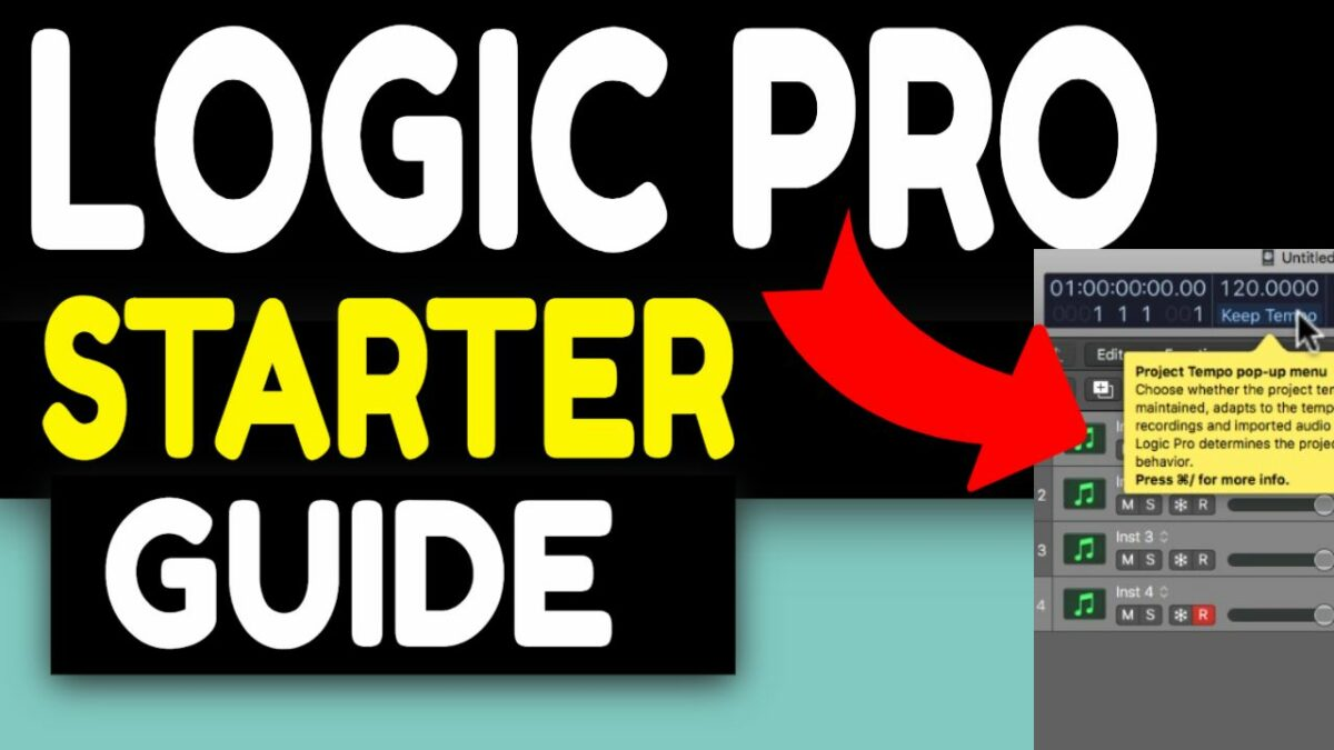 LOGIC PRO X BEGINNER TUTORIAL MASTER CLASS (2021) Overview of Logic Pro – Tips Tricks For NEWBIES